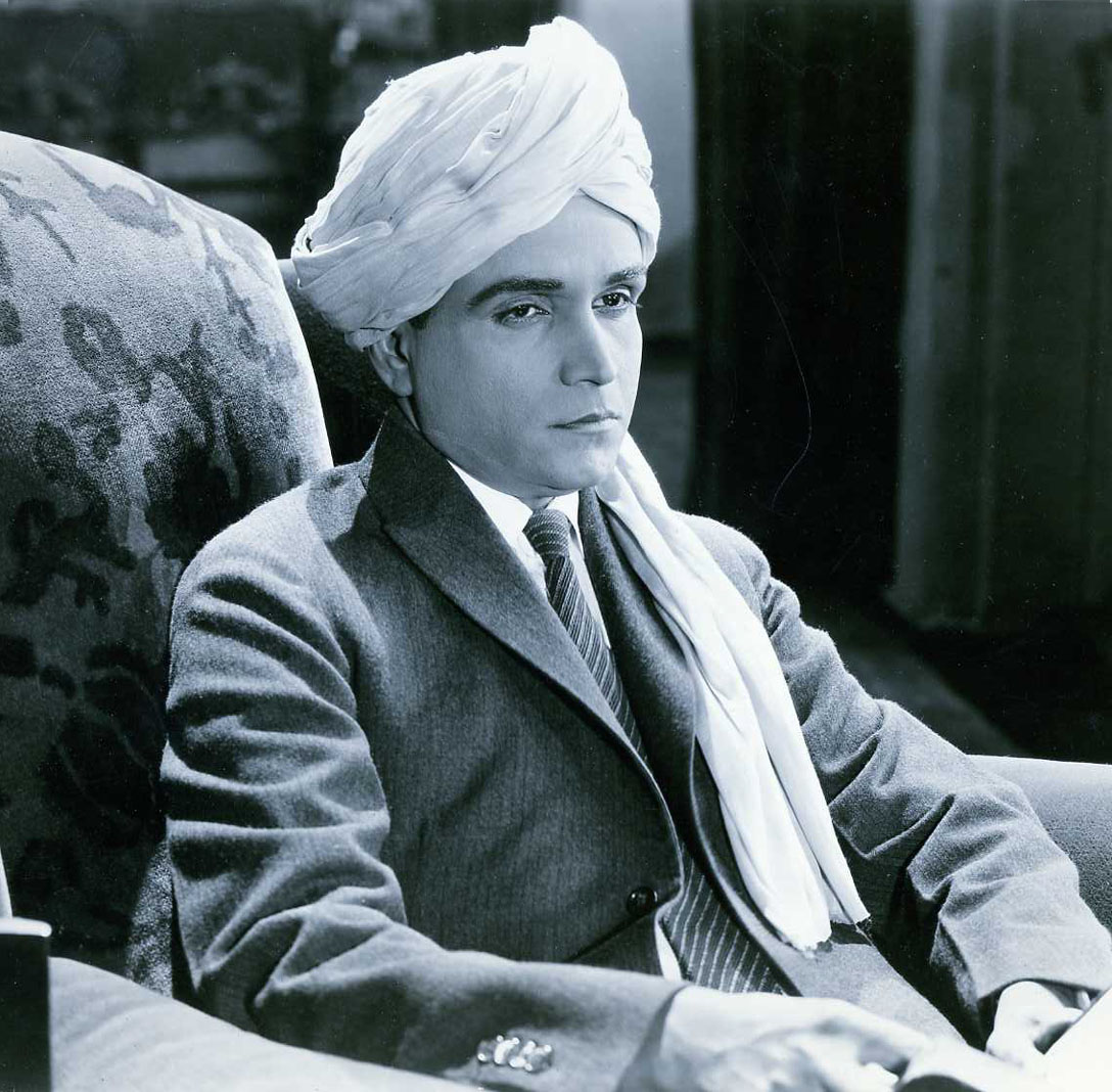 A.K. Mozumdar in 1923