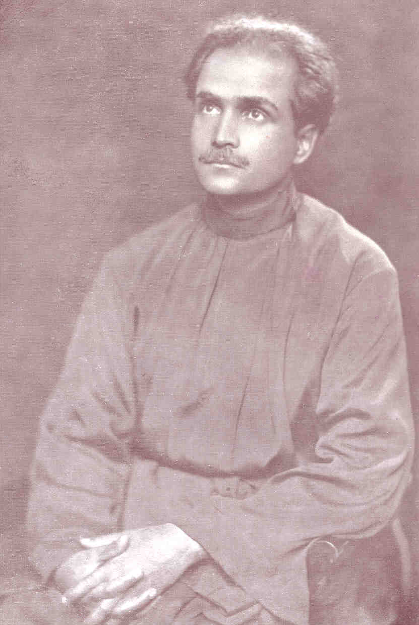 A.K. Mozumdar in 1924