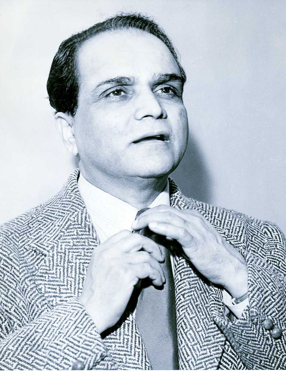 A.K. Mozumdar in 1940